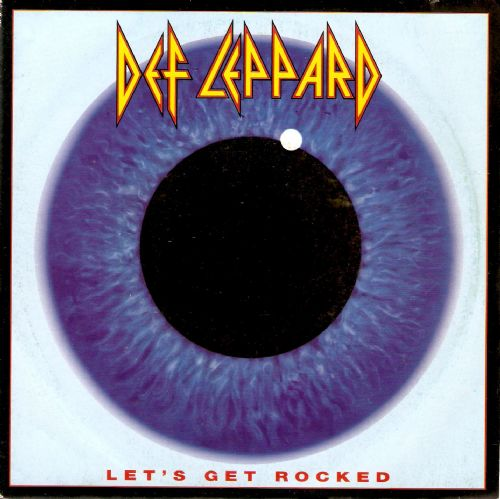 DEF LEPPARD Let's Get Rocked Vinyl Record 7 Inch French Bludgeon Riffola 1992